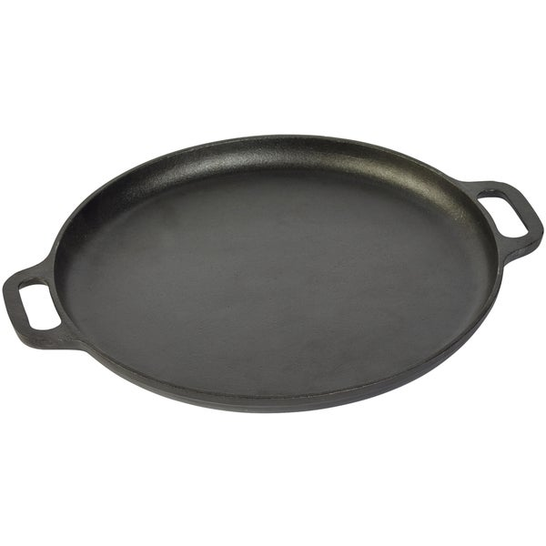 Shop 13 75 Quot Round Griddle With Two Side Handles Free