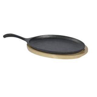 Link to 2pc Small oval fajita set with wooden trivet Similar Items in Cookware