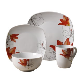 16pc Dinnerware Set - Lily
