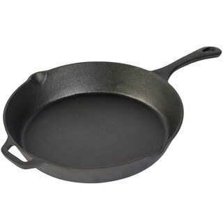 "12"" Open fry pan with assist handle"