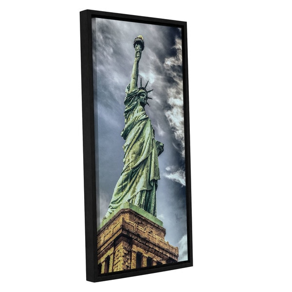 Scott Medwetz Lady Liberty Gallery Wrapped Floater-framed Canvas. Opens flyout.