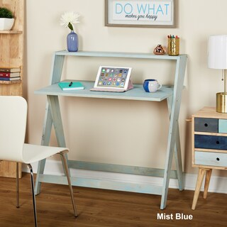 Simple Living Scissors Study Table (More options available)