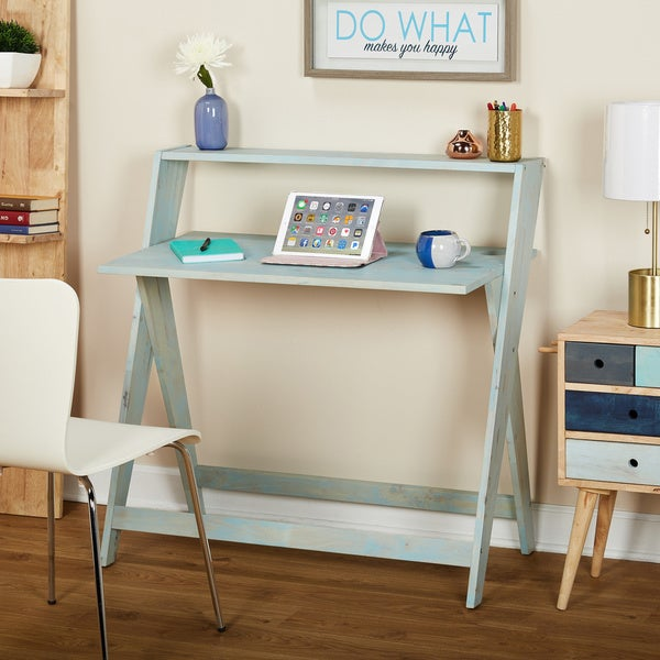Online Shopping Study Table: Shop Simple Living Scissors Study Table