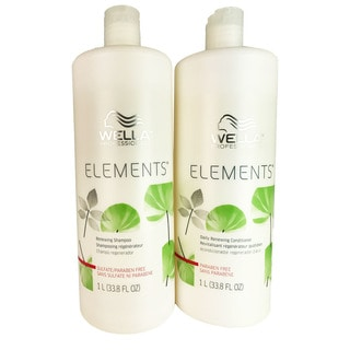 Wella Elements 33.8-ounce Shampoo & Conditioner Duo