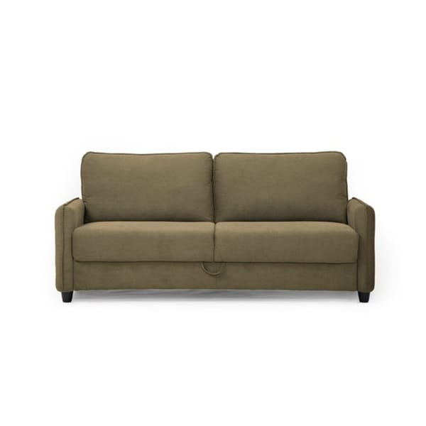 Lifestyle Solutions Sydney Taupe Microfiber Sofa On Free Shipping Today 17136494