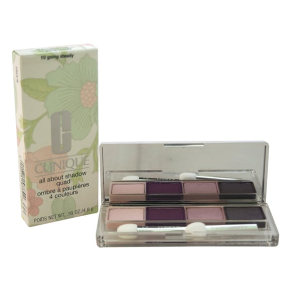 Shop Clinique All About Shadow Quad 10 Going Steady Free