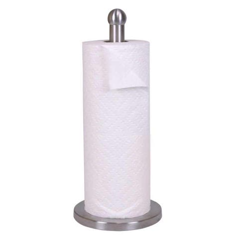 "Sweet Home Collection Stainless Steel Paper Towel Holder (13""x6""x6"")"
