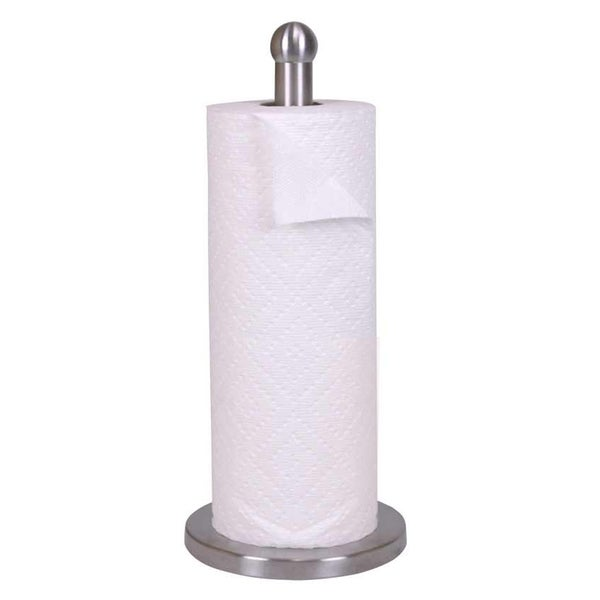 "Sweet Home Collection Stainless Steel Paper Towel Holder (13""x6""x6""). Opens flyout."