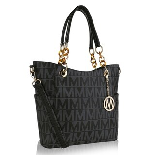 MKF Collection Kissaten Mila M Signature Large Tote by Mia K. Farrow - 13.5 in w x 11 in h x 5 in d