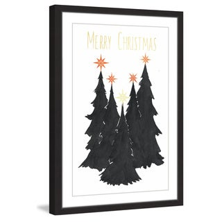 'Magic Christmas' Framed Painting Print