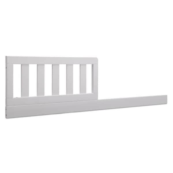 Delta Children Daybed/Toddler Guardrail Kit 0095, Bianca White
