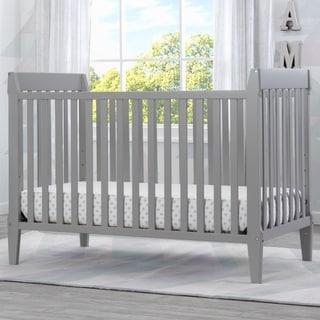 Serta Mid-Century Modern Classic 5-in-1 Convertible Crib, Grey