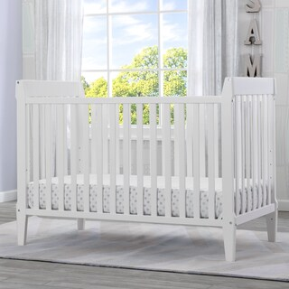 Serta Mid-Century Modern Classic 5-in-1 Convertible Crib (3 options available)