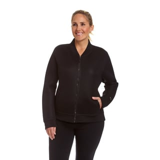Champion Women's Plus Size Fashion Neoprene Bomber