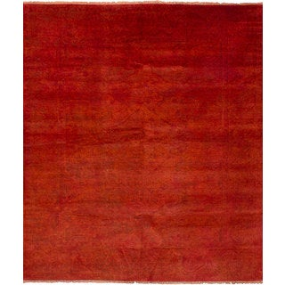 ECarpetGallery Hand-Knotted Color transition Brown Wool Rug (7'11 x 9'9)