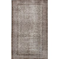 eCarpetGallery Hand-knotted Color-transition Grey Wool/Cotton Rug - 3'10 x 6'7