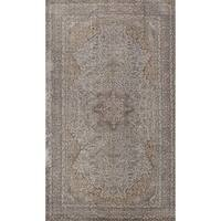 eCarpetGallery Color Transition Grey Wool Hand-Knotted Area Rug (5'8 x 9'6)