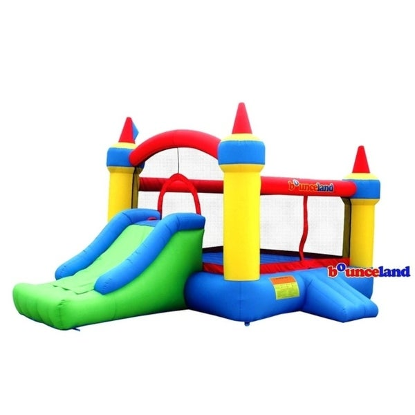 Bounceland Bounce House - Mega Castle with Slide