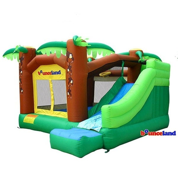 Bounceland Bounce House - Jungle with Slide