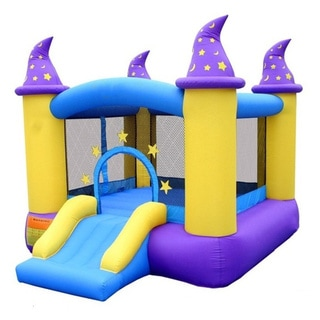 Link to Bouncleand Bounce House - Wizard Magic Bouncer Similar Items in Outdoor Play