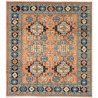 eCarpetGallery Sarabi Brown Wool Hand-knotted Rug - 8'2x9'4