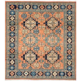 eCarpetGallery Sarabi Brown Wool Hand-knotted Rug - 8'2x9'4