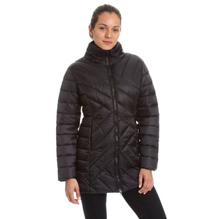 Champion Women's 3/4 Length Packable Quilted Puffer Coat