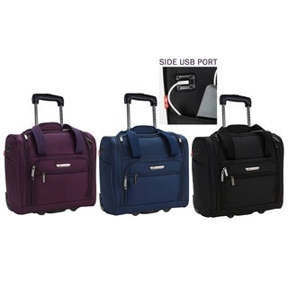 Link to TPRC 15-inch Underseat Rolling Carry-On Similar Items in Carry On Luggage