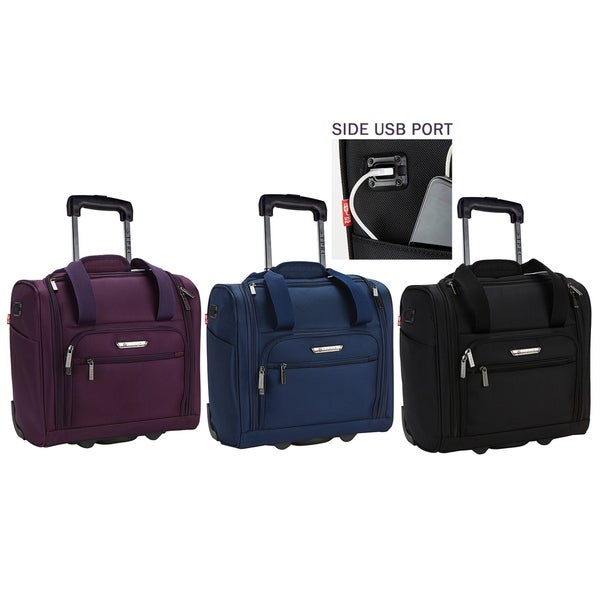 TPRC 15-inch Underseat Rolling Carry-On. Opens flyout.