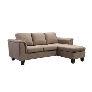 Kinnect York Linen 2-seat Sofa and Chaise (3 options available)