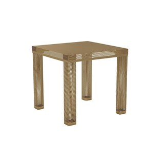 Novogratz Iconic Black Metal End Table