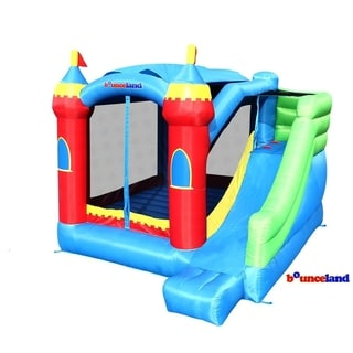 Bounceland Bounce house - Royal Palace Bounce House with Slide
