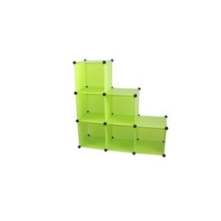 Arsumo 6 customize expandable Polypropylene Cube Storage organizer Unit Set