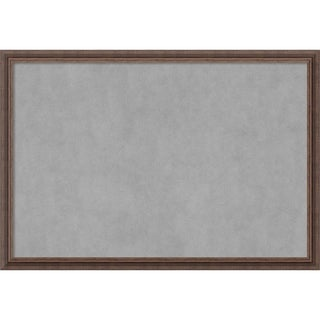 Magnetic Board, Distressed Rustic Brown