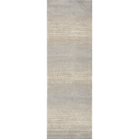"""Alexander Home Brently Modern Abstract Ombre Rug - 2'5"""" x 7'7"""" Runner"""