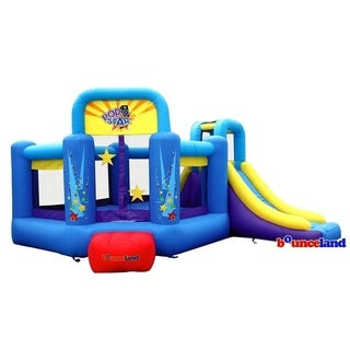 Bounceland Bounce House - Pop Star Bounce House with Slide