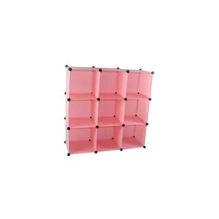 Arsumo 9 customize expandable Polypropylene Cube Storage organizer Unit Set