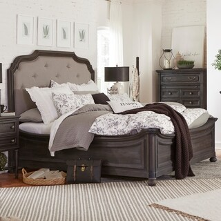 Bedford Corners Farmhouse Anvil Black King Island Bed