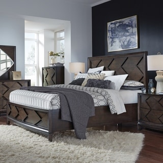 Magnussen Home Furnishings Meridian Contemporary Amaretto King Panel Bed