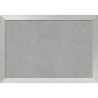 Magnetic Board, Brushed Sterling Silver