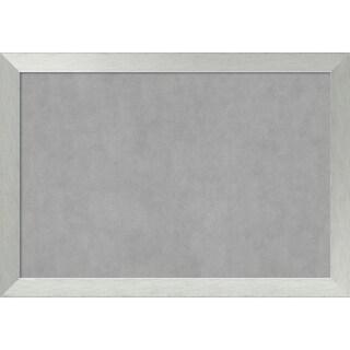 Magnetic Board, Brushed Sterling Silver