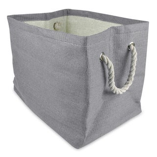 Large Woven Paper Bin