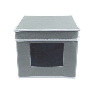 Gray Dishware Storage