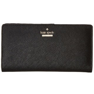 Kate Spade New York Cameron Street Stacy Black Wallet
