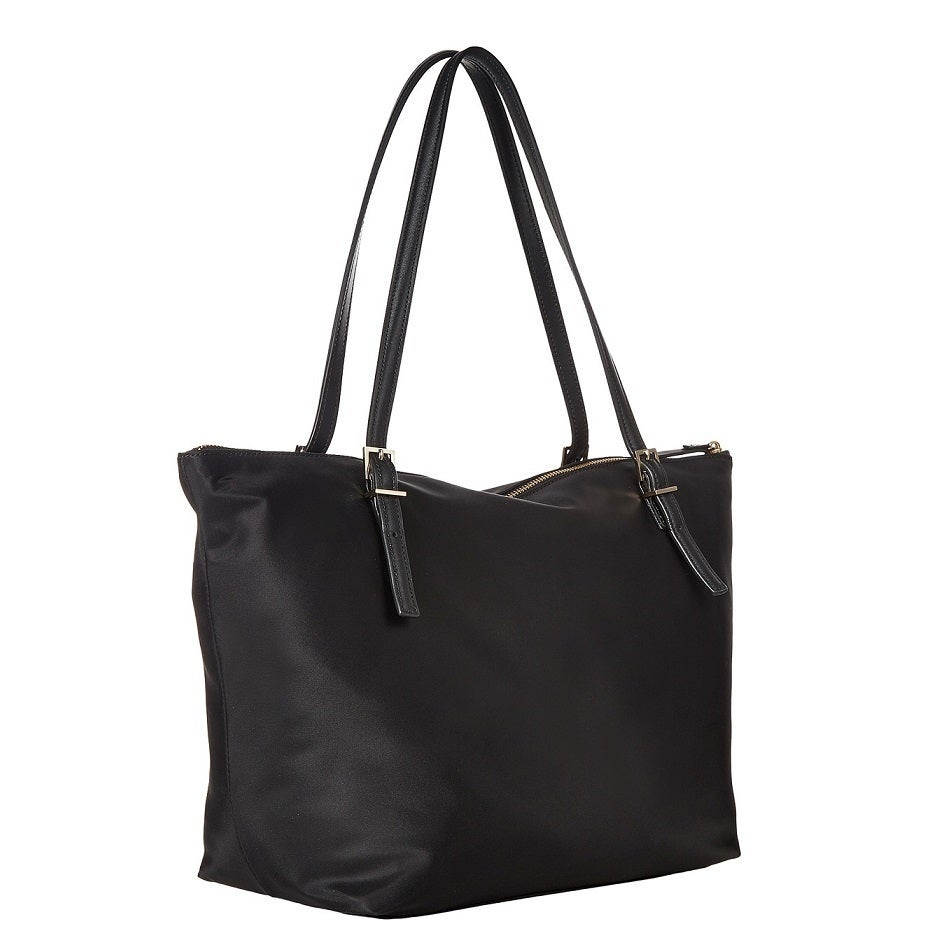 sneakers authentic quality outlet store Kate Spade New York Watson Lane Maya Nylon Black Tote Bag