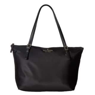 Kate Spade New York Watson Lane Maya Nylon Black Tote Bag