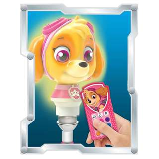 Paw Patrol Multi-Color Character LED Bulb With Remote - Skye