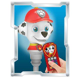 Paw Patrol Multi-Color Character LED Bulb With Remote Marshall