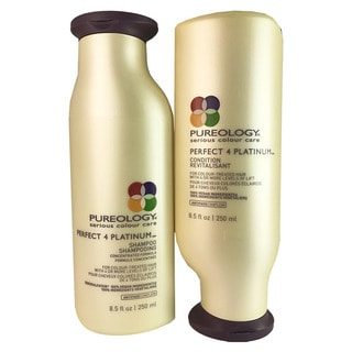 Pureology Perfect 4 Platinum Shampoo & Conditioner Duo