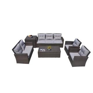 Martinka 6-Piece Outdoor Sectional Sofa Set with Cushion